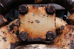 De geroeste Textuur van het Metaal Stock Fotografie