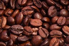 de geroosterde achtergrond van het de textuur mooie voedsel van koffiebonen Royalty-vrije Stock Afbeelding