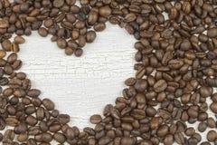 De geroosterde Bonen van de Koffie royalty-vrije stock foto