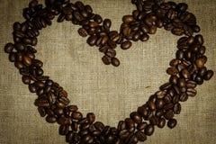 De geroosterde Bonen van de Koffie Royalty-vrije Stock Fotografie