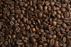 De geroosterde Bonen van de Koffie Stock Fotografie