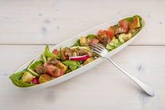 De geroosterde salade van Turkije Stock Foto