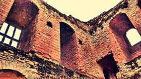 De geruïneerde oude bouw Stock Foto's