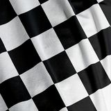 De geruite Close-up van de Vlag Royalty-vrije Stock Fotografie