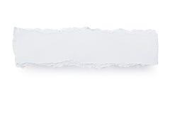 De gescheurde Banner van het Document Royalty-vrije Stock Fotografie
