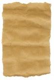 De Gescheurde randen van het Pakpapier Stock Afbeeldingen