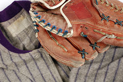 De Geschiedenis van het honkbal Royalty-vrije Stock Afbeeldingen