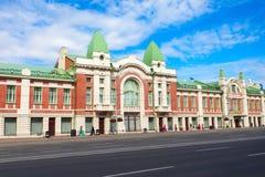 De Geschiedenismuseum van de Staat van Novosibirsk stock fotografie