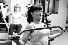 De geschiktheid van de gymnastiek Stock Afbeeldingen