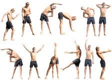 De geschiktheid van de oefening Stock Afbeeldingen