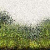 De geschilderde Abstracte Achtergrond van de Grastextuur stock afbeelding