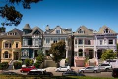 De Geschilderde Dames van San Francisco Royalty-vrije Stock Foto's