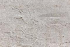 De geschilderde gepleisterde witte achtergrond van de muurtextuur Stock Afbeeldingen