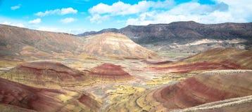 De geschilderde Heuvels stock fotografie