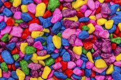 De Stenen van de regenboog Stock Afbeeldingen