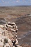 De geschilderde Mening van de Woestijn Royalty-vrije Stock Foto