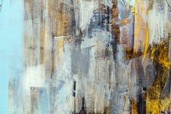 De geschilderde Textuur van het Canvas