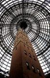De geschotene toren van de kippenren in Melbourne Stock Afbeelding