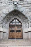 De gesloten Deuren van de Kerk Royalty-vrije Stock Afbeelding