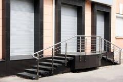 De gesloten winkel Stock Afbeeldingen