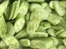 De gesneden stijl van het komkommer Thaise voedsel Royalty-vrije Stock Foto