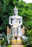 De gestalte van Boedha bij wat tampratun Stock Foto