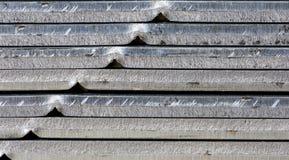 De gestapelde stapel van metaalbladen Royalty-vrije Stock Fotografie