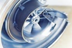 De gestemde regeling van de turbocompressorstructuur, royalty-vrije stock afbeeldingen