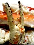De gestoomde klauw van de krab Stock Foto's