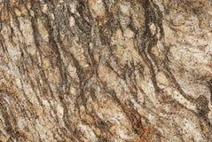 De gestreepte grangy oppervlakte van de granietsteen Royalty-vrije Stock Fotografie