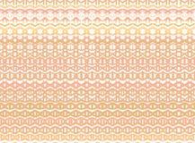 De gestreepte hand schilderde naadloos patroon met etnisch en tri Royalty-vrije Stock Foto