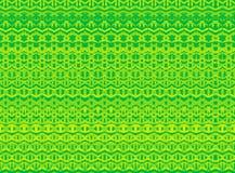 De gestreepte hand schilderde naadloos patroon met etnisch en tri Stock Afbeeldingen