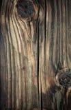 De gestreepte houten achtergrond van Gnarly Stock Foto