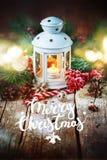 De getrokken van Kerstmisgiften van de Sneeuwvakantie Rode Bal Stock Afbeelding