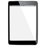 De Getrokken Vectorillustratie van tabletpc Hand Royalty-vrije Stock Afbeeldingen
