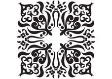 De getrokken vorm van de textuur hand Stock Afbeeldingen