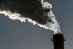 De gevaarlijke giftige wolk van Co2 stock afbeeldingen