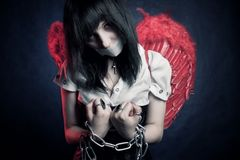 De gevangene van de engel Royalty-vrije Stock Afbeelding