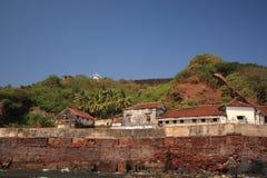 De Gevangenis van Aguada van het fort Royalty-vrije Stock Afbeelding