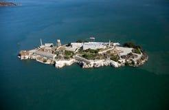 De gevangenis van Alcatraz in San Francisco Royalty-vrije Stock Foto