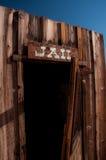 De Gevangenis van de cowboy royalty-vrije stock foto's