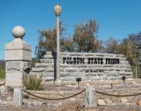 De Gevangenis van de Folsomstaat Stock Foto