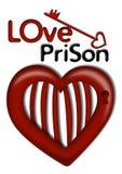 De Gevangenis van de liefde Royalty-vrije Stock Afbeeldingen