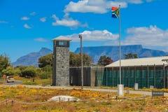 De Gevangenis van het Robbeneiland stock afbeeldingen