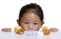 De gevaren van kinderjaren Stock Fotografie