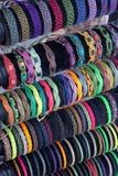 Gevlechte armband Stock Fotografie