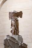 DE GEVLEUGELDE OVERWINNING VAN SAMOTHRACE IN LOUVRE Stock Afbeelding