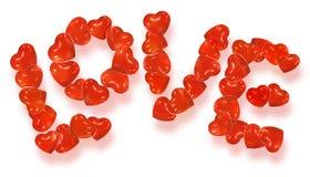 De gevormde ballons van de valentijnskaart hart Royalty-vrije Stock Fotografie