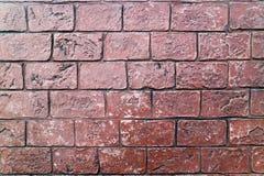 De gevormde het bedekken achtergrond van de de baksteenvloer van het tegelscement stock fotografie