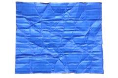 De gevouwen oppervlakte van het marinekarton royalty-vrije stock afbeeldingen